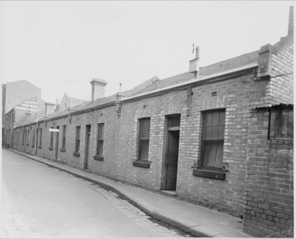 Casselden Place in the 1950s. Image courtesy of the State Library of Victoria